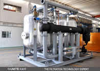 Çin Back wash control Industrial Filtration System / oil filtration system Fabrika